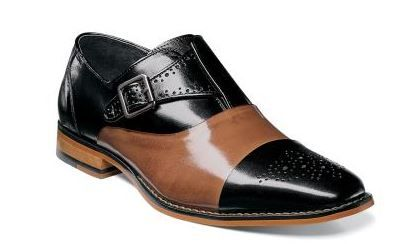 Stacy Adams Men's Leather Dress Shoe - Stylish Smooth Accent