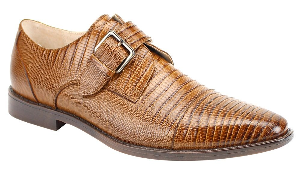 Giorgio Venturi Men's Outlet Leather Dress Shoe - Snakeskin
