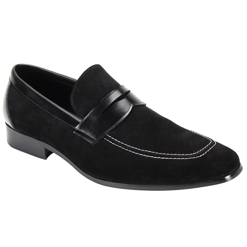 Giorgio Venturi Men's Suede Loafer - Sleek Accents
