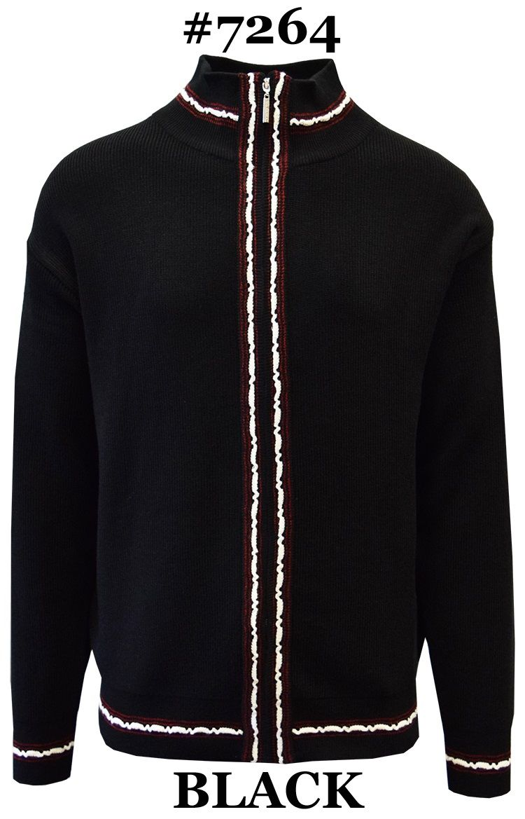 Silversilk Men's Sweater - Accented Lining