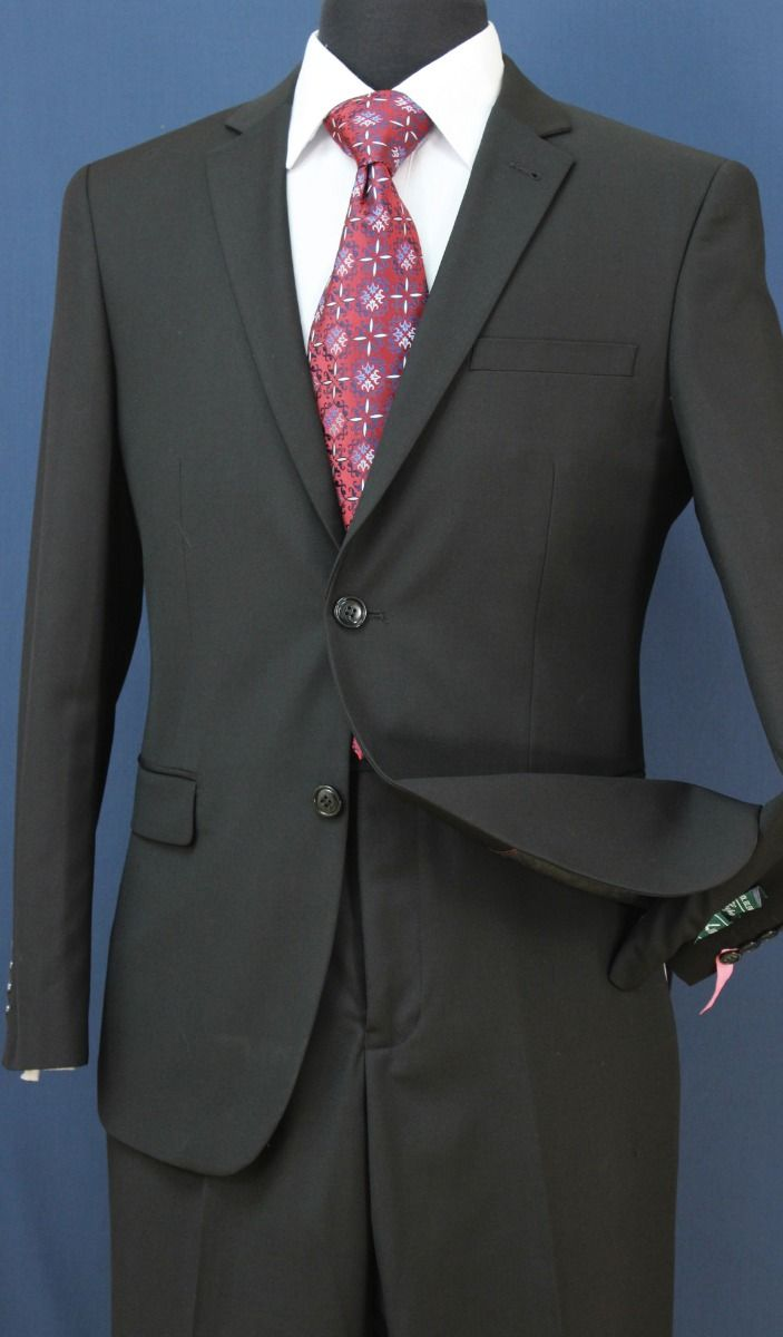 Loriano Men's 2pc Slim Fit Executive Suit - Modern Style