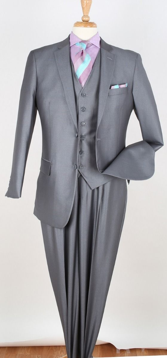 Royal Diamond Men's 3 Piece Fashion Suit - Classic Style