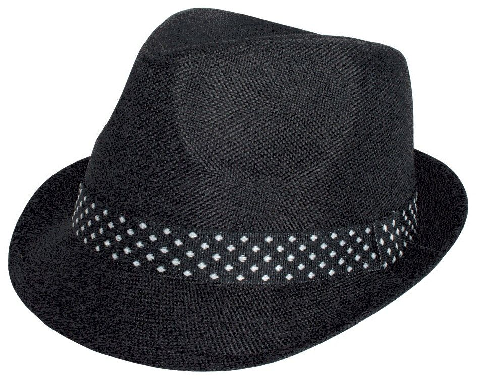 Karl Knox Men's Fedora Style Dress Hat - Patterned Band