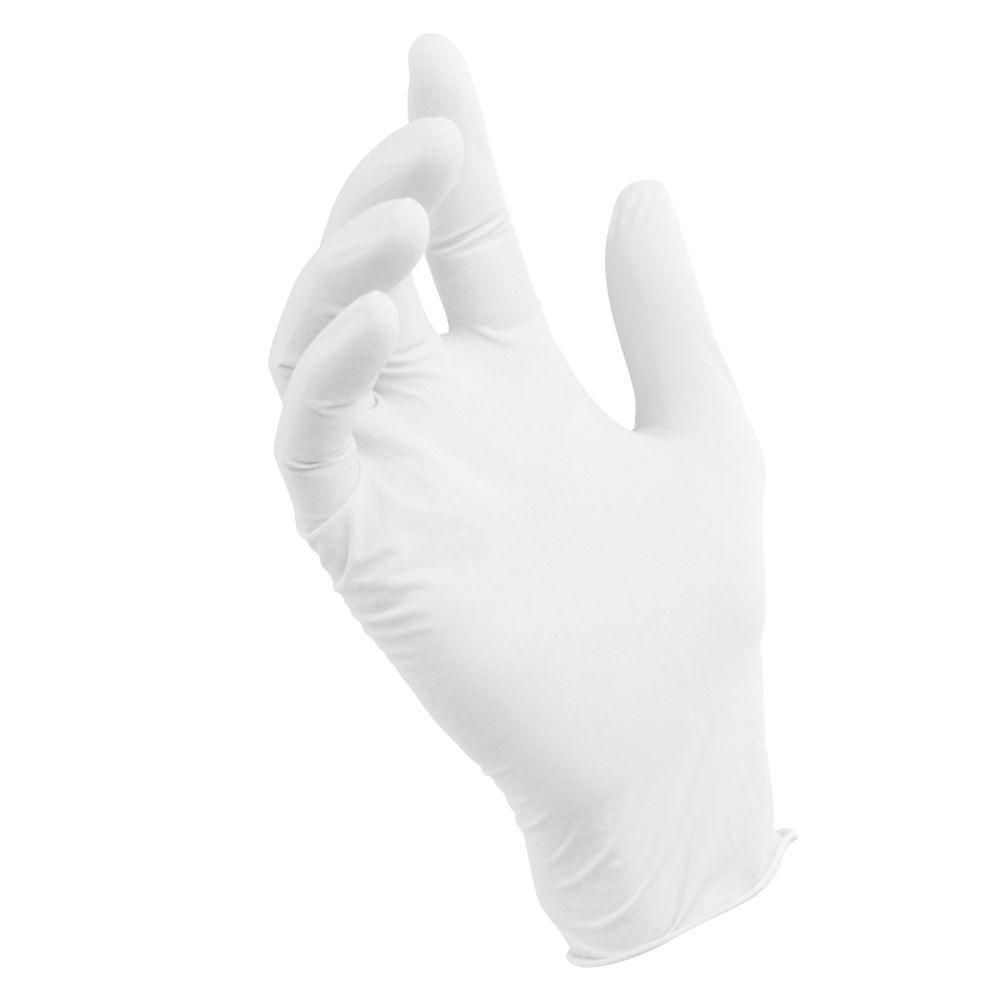 Smooth Touch Disposable Latex Gloves - 50 Pairs per Box