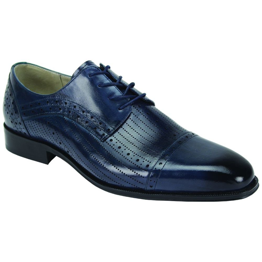 Giovanni Men's Outlet Leather Dress Shoe - Breathable Fashion