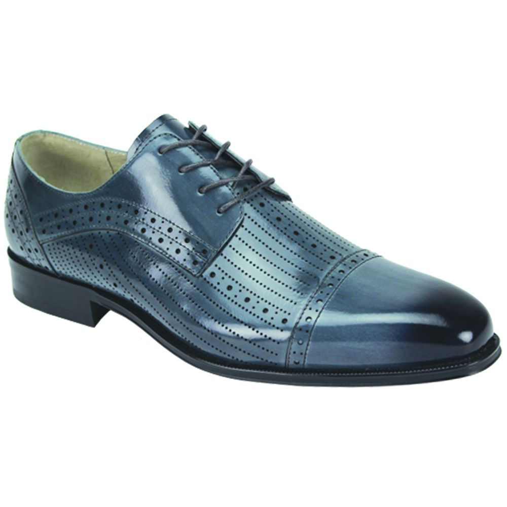 Giovanni Men's Leather Dress Shoe - Breathable Fashion