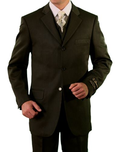 Demantie Men's 3 Piece Discount Suit - Executive Style