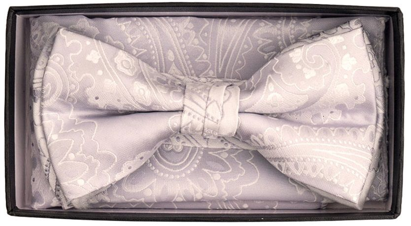 Karl Knox Men's Square End Bow Tie Set - Vibrant and Varied