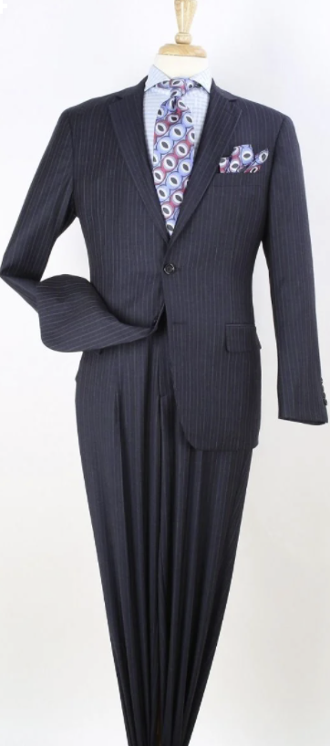 Apollo King Men's Outlet 2pc 100% Wool Fashion Suit - Exciting Color Design