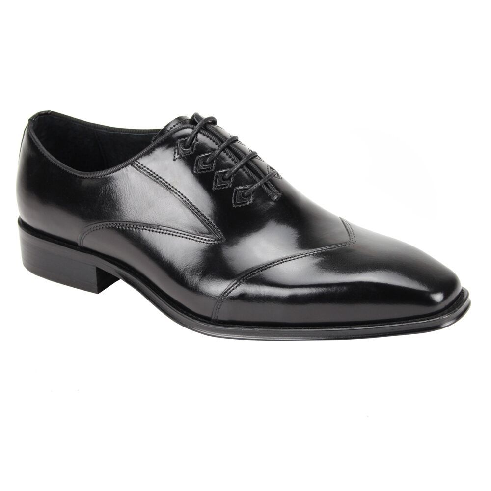 Steven Land Men's Premium Leather Dress Shoe - Sharp Design