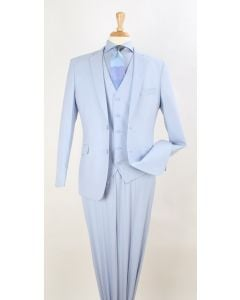 Royal Diamond Men's 3 Piece Modern Fit Suit - Spring Styles