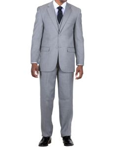 Falcone Men's 3 Piece Fashion Suit - Classic Business