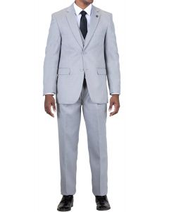 Stacy Adams Men's 3 Piece Fashion Suit - Classic Business