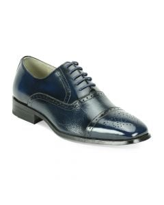 Giorgio Venturi Men's Outlet Leather Dress Shoe - Two Tone Oxford