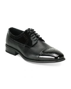 Roberto Chillini Men's Lace Up Dress Shoe - Wide Width