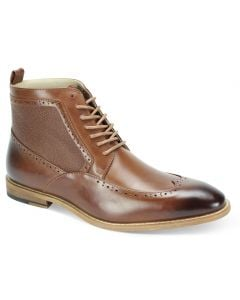 Antonio Cerrelli Men's Fashion Ankle Boot - Wing Tip