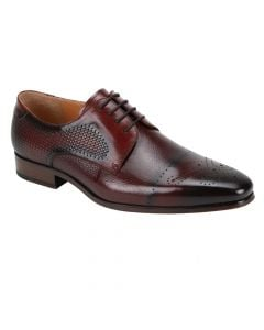 Giorgio Venturi Men's Leather Dress Shoe - Mutli-Textured