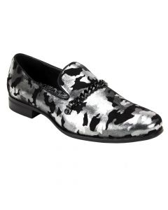 After Midnight Men's Fashion Dress Shoe - Shiny Camouflage