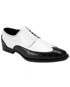 Antonio Cerrelli Men's Fashion Dress Shoe - Bold Two Tone