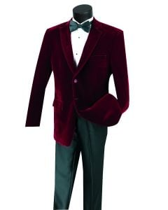 Vinci Men's Outlet Sport Coat - Complete Velvet