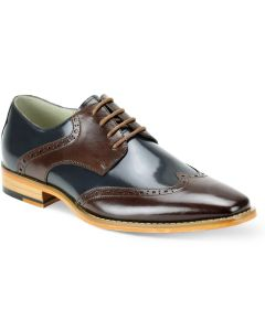 Giovanni Men's Outlet Leather Dress Shoe - Timeless Wing Tip
