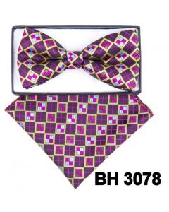 CCO Square End Bow Tie Set - Assorted Styles