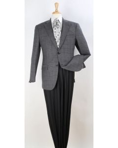 Apollo King Men's Outlet 100% Wool Sport Coat - Single Breasted