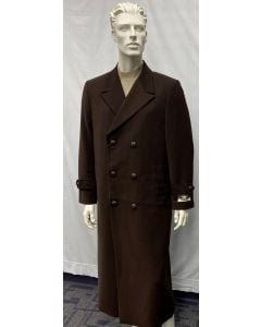 Carmel Zhao Men's Full Length Top Coat - Double Breasted