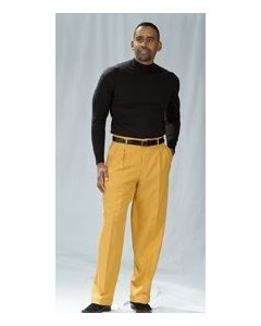 Zacchi Men's Outlet Pleated Pants - Classic Style