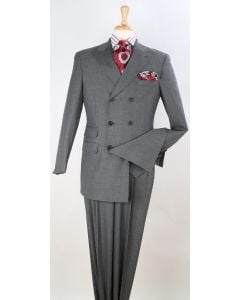 Apollo King Men's Outlet 3pc Fashion Suit - Double Breasted