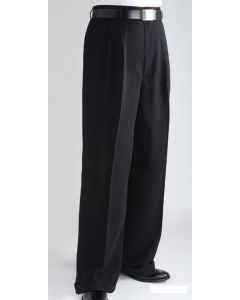 Daniel Ellissa Men's Outlet Wide Leg Pants - Double Pleated