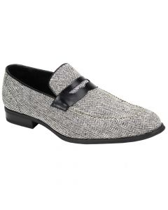 Giovanni Men's Wool Tweed Outlet Dress Loafer - Unique Fashion