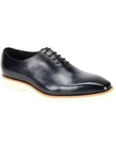 Giovanni Men's Leather Dress Shoe - Smooth Brushed Solid