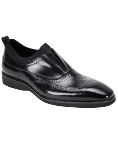 Giovanni Men's Leather Dress Shoe - Slip On