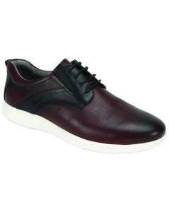 Giovanni Men's Leather Athleisure Shoe - Sneaker Style