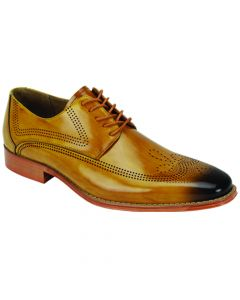Giovanni Men's Leather Dress Shoe - Breathable Business Fashion