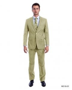 Sean Alexander Men's 2 Piece Executive Suit - Notch Lapel