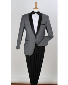 Apollo King Men's 2pc 100% Wool Tuxedo - Fashion Compose Style