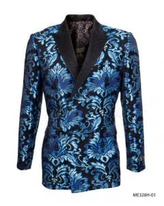 Empire Men's Luxurious Sport Coat - Bright Floral