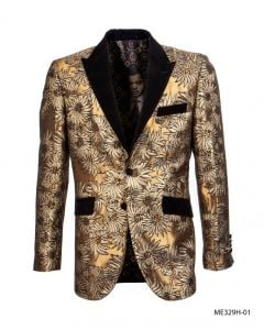 Empire Men's Luxurious Sport Coat - Sunflower