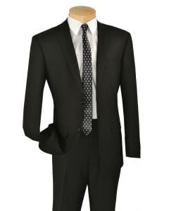 Vinci Men's 2 Button Slim Fit Suits Collection - Simply Stylish