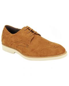 Steven Land Men's Sneaker Style Dress Shoe - Cream Soles