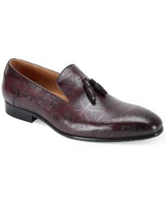 Steven Land Men's Outlet Premium Leather Dress Shoe - Leather Loafer