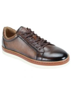 Steven Land Men's Premium Leather Fashion Shoe - Leather Sneaker