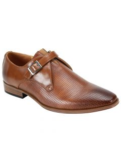 Steven Land Men's Dress Shoe - Perforated Toe