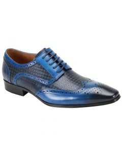 Steven Land Men's Outlet Premium Leather Dress Shoe - Breathable Leather
