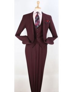 Royal Diamond Men's 3 Piece Fashion Suit - Slim Fit