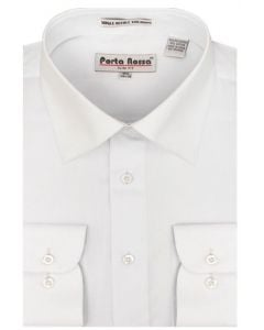 Karl Knox Men's Basic Dress Shirt - Solid Colors