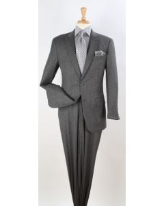 Apollo King Men's Outlet 2pc 100% Wool Fashion Suit - Simply Business