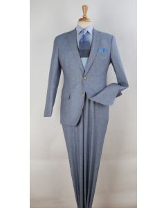 Apollo King Men's 2 Piece 100% Wool Fashion Suit - Varied Styles